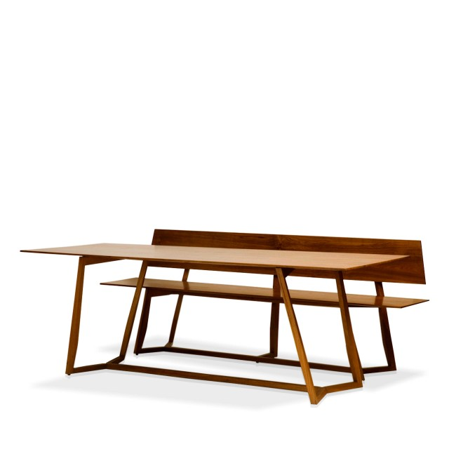 manzoku dining table & bench