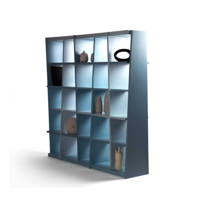 haphazard bookshelf