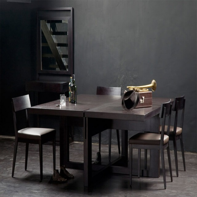 between dining table