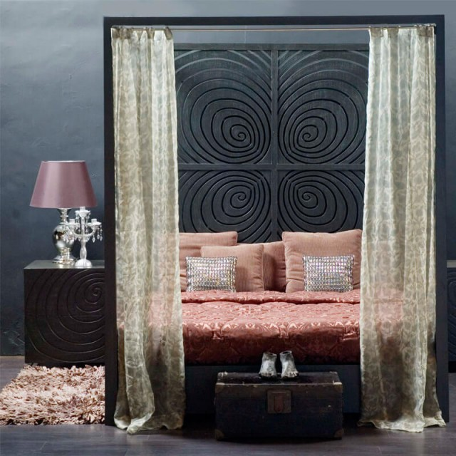 fingerprint poster bed