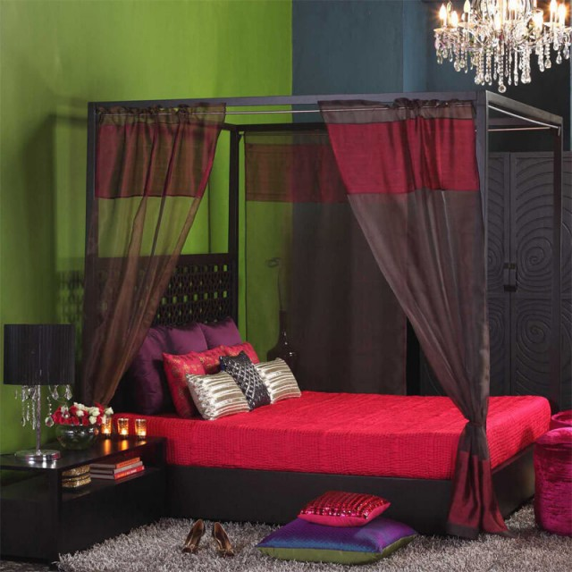 indus 4 poster bed