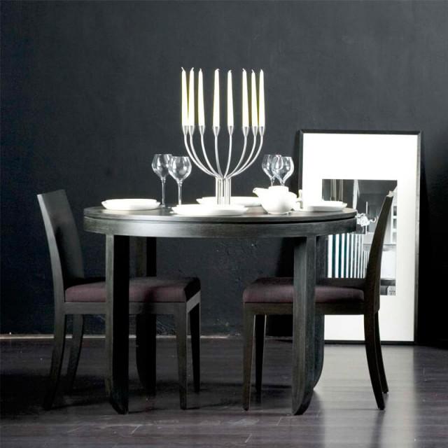 around dining table