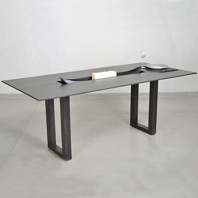 canoe dining table
