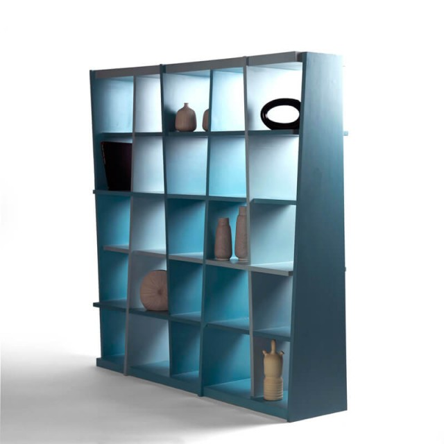 haphazard bookshelf