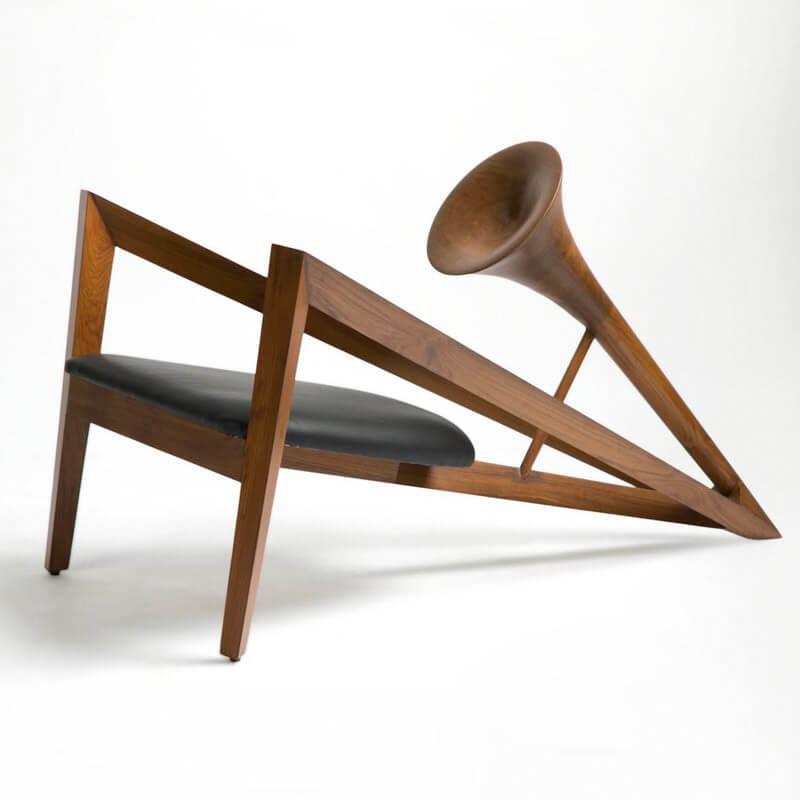 trumpet chair